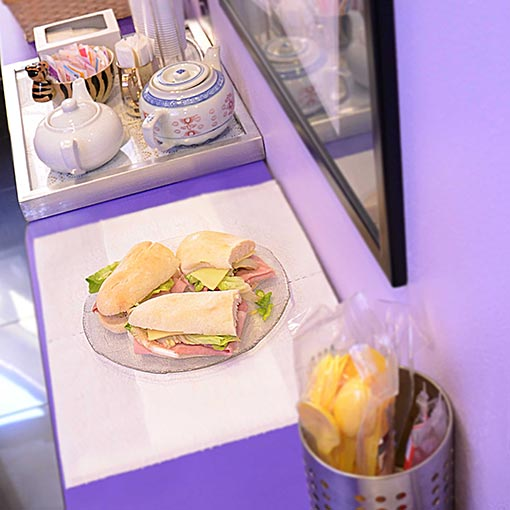 Kitchenette Business Lounge